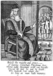 The Examination and Tryal of Father Christmas (1686)