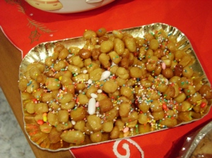It's not Christmas for me without struffoli.